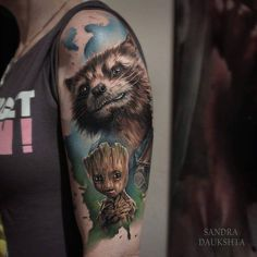 Guardians of galaxy ink