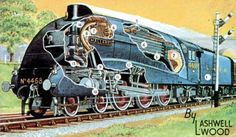 Streamlined locomotives of the world