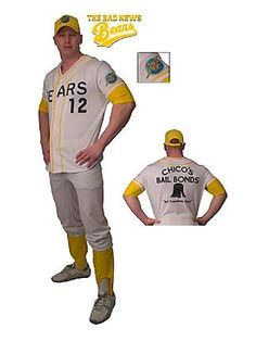 Adult Bad News Bears Deluxe Costume.  I wonder if they make a tiny one.