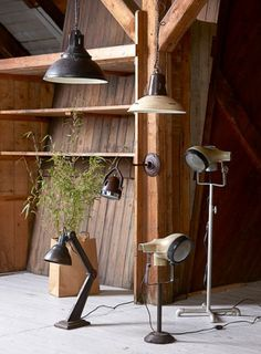 Vespa Floor Lamp - Upcycled lamps by Smithers of Stamford - Recycled from original old vintage Vespa Piaggio headsets. Also available in smaller size Vespa table lamps. Size H 53 cm X W 30 cm. Colour Green, this is for table lamp size not the floor lamp.