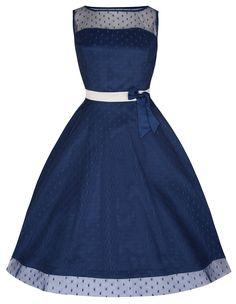 Lindy Bop 'Dolly' Elegant 50's Vintage Style Prom/Bridesmaid Dress | Amazon.com