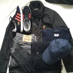 Away Days - Gazelles and Lyle&Scott Football Casual Clothing, Football Casuals, Football Fashion, Casual Wear, Men Casual, Adidas Og, Cool Outfits, Casual Outfits, Clothing Items