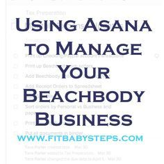 Asana 4 Beachbody ... to manage leads and customers for BB