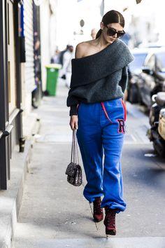 Paris Fashion Week, Street Style #streetstyle #streetfashion #fashion
