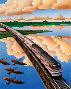 nice 1980s amtrak illustrations: http://www.amtrak40th.com/archives/@@archives?q=decade:1980s&mode=browse
