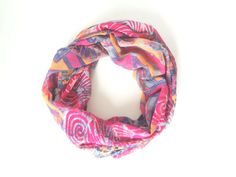 Tribal Infinity Scarf. Print Scarf. Summer by FashionelleStudio, $19.99