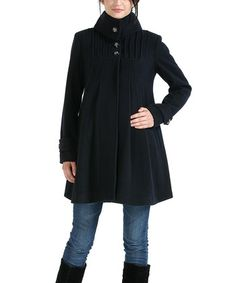 1dca248dcc839 MOMO swing coat - cutest maternity coat I've ever seen Maternity Coat,  Maternity