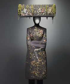 """Alexander McQueen - VOSS """"I want to be honest about the world that we live in, and sometimes my political persuasions come through in my work. Fashion can be really racist, looking at the clothes of other cultures as costumes. . . . That's mundane and it's old hat. Let's break down some barriers."""""""