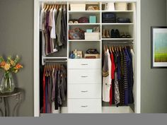 Picture of Closet Organizers Lowes: Product Designs and Images