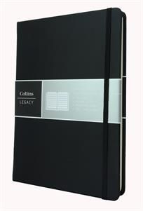 Collins Legacy Notebook Black