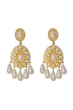 RentTheRunway $35 Kenneth Jay Lane earrings