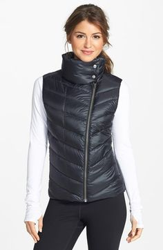 "Patagonia+'Prow'+Quilted+Down+Vest+available+at+#Nordstrom   23 1/2"" length (size Medium). Secure zip pockets stash cash or a key. DWR (durable water-resistant) finish helps repel water to keep you dry. Lined, with 600-fill-power duck down. 100% nylon. By Patagonia; imported. $149"