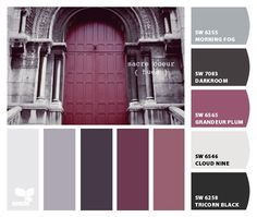 Master Bedroom Color Palette -