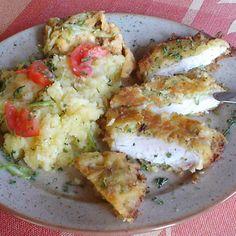 Egy finom Csirkemell cukkinis bundában ebédre vagy vacsorára? Csirkemell cukkinis bundában Receptek a Mindmegette.hu Recept gyűjteményében!