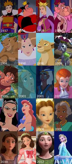 Disney and Pixar Queens. Learn your movies people Disney Pixar, Walt Disney, Disney Animation, Disney Facts, Disney And Dreamworks, Disney Girls, Disney Love, Disney Magic, Disney Stuff