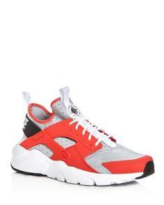 hot sale online e2690 d92a9 NIKE Men S Air Huarache Run Ultra Lace Up Sneakers.  nike  shoes  sneakers