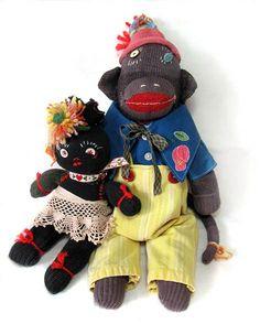 she makes wonderful sock monkeys!