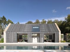 Gloucestershire pool house and stables. Private client.