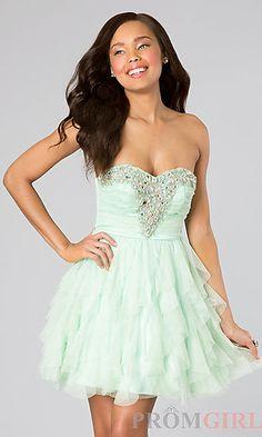 Morgan Party Dresses, High Low Semi Formal Dress, Simply Dresses ...
