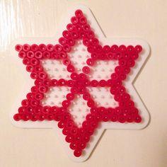 Christmas ornament hama beads by fionamerrild