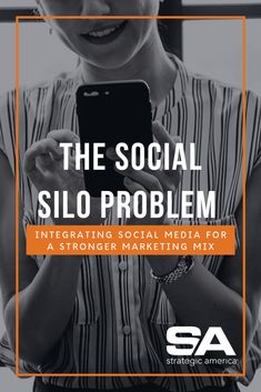 Social media is often treated as it's own sector of marketing with no connection to other strategies. But if you're treating it that way, you're falling behind. See more from SA'er Anna here. The Marketing, That Way, Connection, Anna, Social Media, America, Blog, Blogging, Social Networks