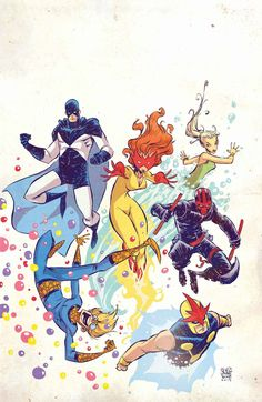 The New Warriors by Skottie Young