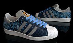 "Adidas Superstar ""Dragon"" Custom by Benji Blunt"