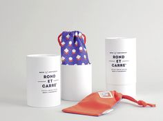 ROND ET CARRE' PACKAGE DESIGN on Behance