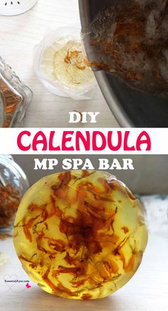 DIY calendula melt & pour spa bar. Homemade natural and healthy all my how to diy remedies are based on simple recipes. I love creative melt and pour soap making. This is easy to make no-lye soap recipe. I love making these soaps and other skin care treats the Scent of these calendula soaps is just for sensitive skin. #diyspabar #melt&pour Soap Making Recipes, Soap Recipes, Diy Beauty Projects, Diy Projects, Spa Bar, Soap For Sensitive Skin, Lye Soap, Make Beauty, Diy Spa