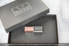 Custom Engraved Glass USB Drives in 4GB, 8GB & 16GB | Design Aglow