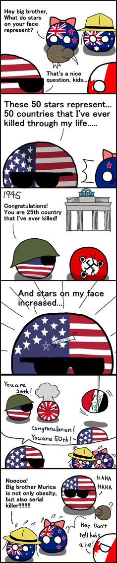 All in the Anglo Family #1: Secret of Murica | Polandball Comics