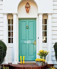 """Custom 5"""" Vinyl House Number Design for front door"""