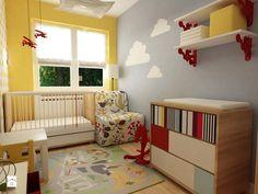 Pokój dziecka, styl skandynawski - zdjęcie od Grafika i Projekt architektura…