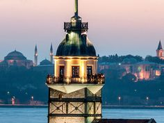 Whisk a loved one away for a romantic getaway to Maiden's Tower, located on a small islet just 220 yards away from the coast of Uskudar in Istanbul.