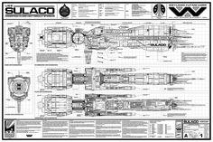 Propsummit.com a Blade Runner Prop Community Forum BladeRunnerProps.comView topic - USS SULACO Exterior Blueprints