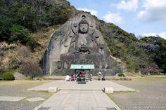 Nokigiriyama's Daibutsu in Chiba Prefecture.
