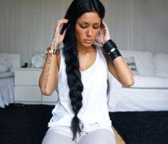 braids look cute on long hair