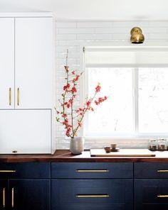 Bellevue Mid-Century Renovation  by brio interior design. Photograph by Haris Kenjar #ContemporaryInteriorDesignkitchen