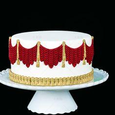 3 stks/set kwastje chinese stijl kwastje suiker taart siliconel droog laciness schimmel kauwgom plakken schimmel