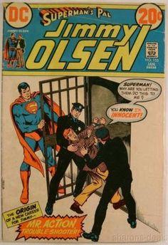 DC Comic Book Superman Pal Jimmy No 155 Downfall of Judas Olsen January 1973 Vtg - FUNsational Finds - 1