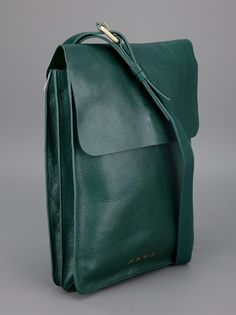 marc by marc jacobs green leather satchel and backup. made for a man but looks unisex to me.