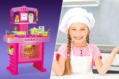 18pc Kids Toy Kitchen