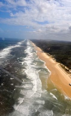 Visit 90 Mile Beach in Victoria, Australia for long, luxurious walks on the beach