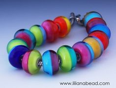 Horizon Beads -- It's nice how some really simple beads can look amazing.