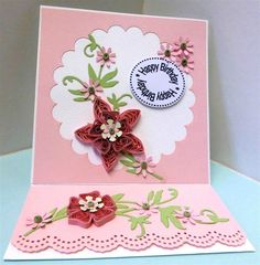 Quilling Easel Birthday Card | docrafts.com