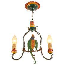 Incredible Romance Revival Parrot Pendant By Moe Bridges C1925   Restored Lighting, Antiques & Vintage Finds from Rejuvenation