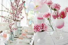 De tafel dekken voor Pasen - Lekker en Simpel