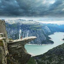 Fototapet - Trolltunga in Norway