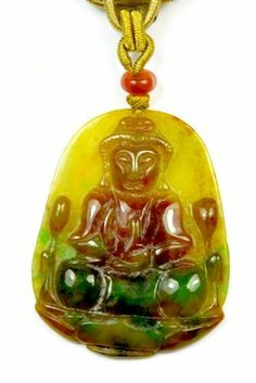 Mercy collier de Bouddha de Jade, Pendentif 55x42x5 mm, Collier 44 -46 cm- Fortune Feng Shui Bijoux de Feng Shui & Fortune Jewelry, http://www.amazon.fr/dp/B00EN07OXY/ref=cm_sw_r_pi_dp_gBVssb12RGNWY