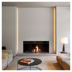 Contemporary Fireplace Wall Designs